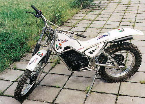 Мотоцикл для триала своими руками